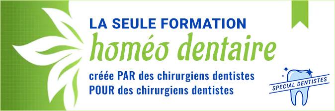 ANPHOS propose la seule formation en homéopathie dentaire créée PAR les dentistes POUR les dentistes.