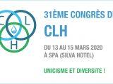 31ème Congrès du CLH 13-15 mars 2020 à Spa
